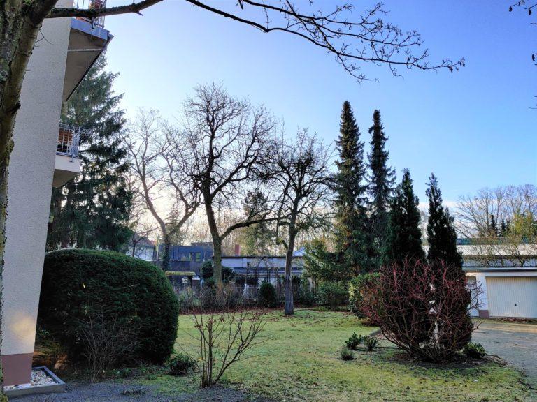 Ansicht Hinterhaus + Garage